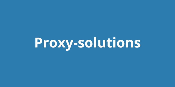 Персональные прокси от Proxy-solutions