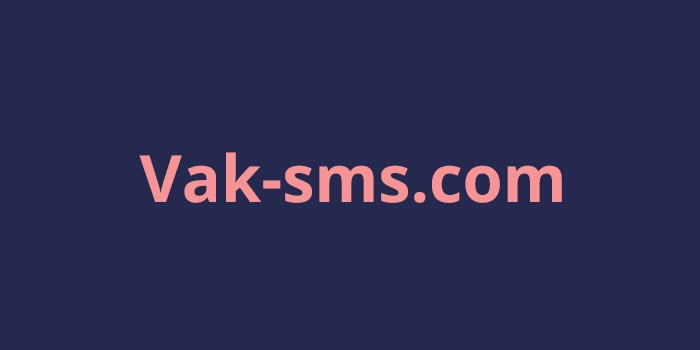 Сервис смс активаций Vak-sms.com